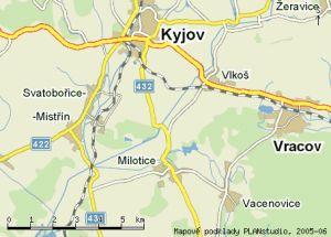 Naše honitba je situována na katastrálním území obce Milotice u Kyjova